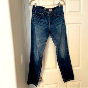 AG stilt blue premium denim size 30R jeans GUC